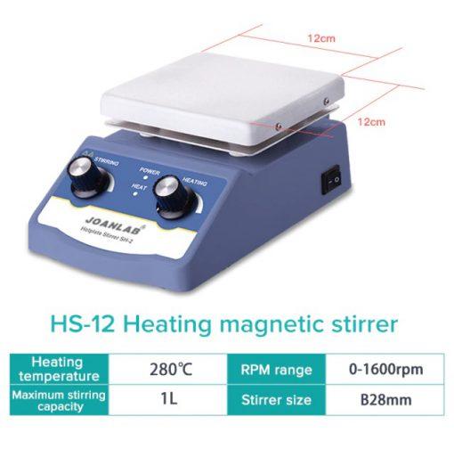 magneetroerder met verwarming