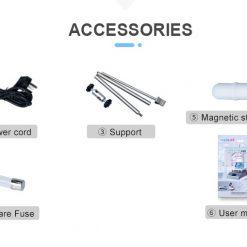 Accessoires magneetroerder met verwarming
